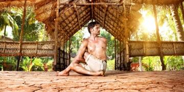 Der Drehsitz: Ardha Matsyendrasana (Yoga Asana)