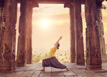 mit Yoga ausgleichen