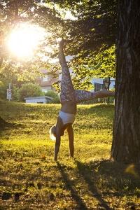 Vorbereitung Handstand Yoga