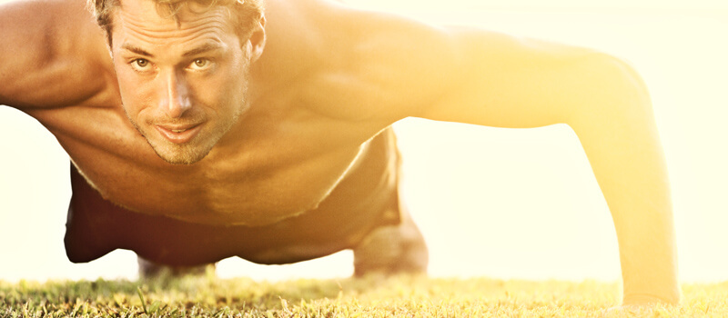 Eiweiß-Shakes für mehr Muskelmasse