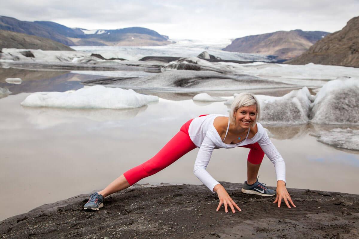 Hüftöffner Yoga Asana