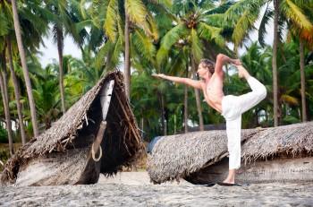 Asana: Der Tänzer