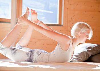 Der Bogen - Yoga Asana