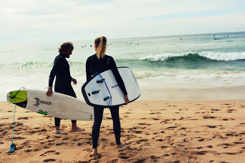 aktiver Strandurlaub