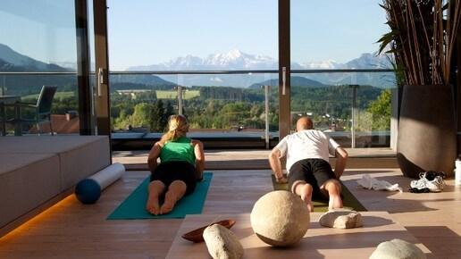 Yoga im Hotel Gmachl