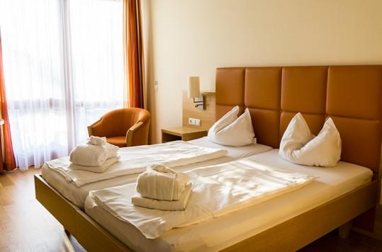 Hotelzimmer im Quellenhotel