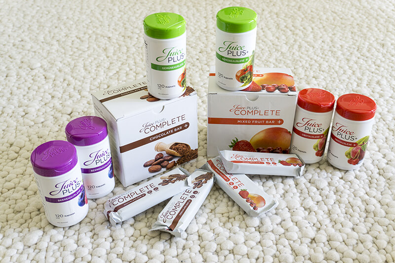 Juice Plus+ Sortiment