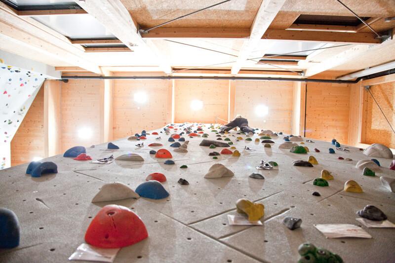 Indoor Kletterhalle