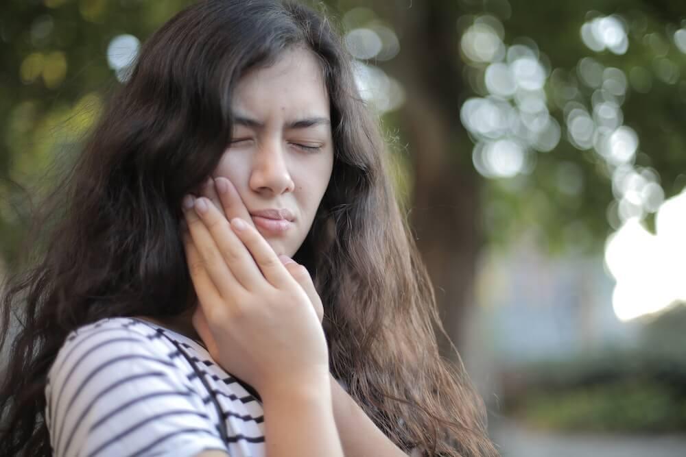 Kranke Zähne bereiten Schmerzen