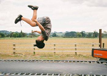 faszientraining auf trampolin